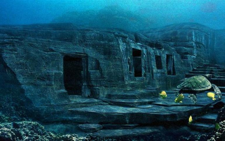 Povandeninio miesto paslaptys