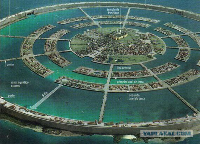 Guel-er-Rišatas Sacharoje - Atlantidos liekanos 3